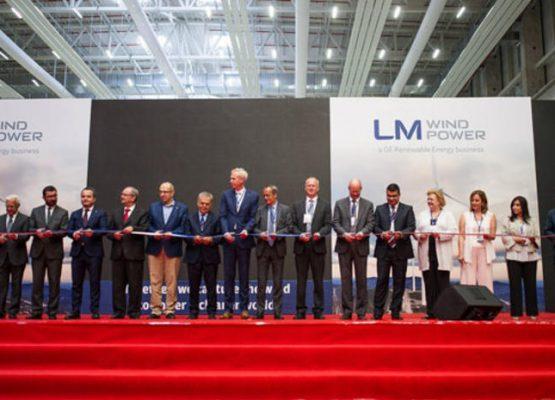 LM Wind Power Bergama'daki Yeni Fabrikasında Üretime Başladı